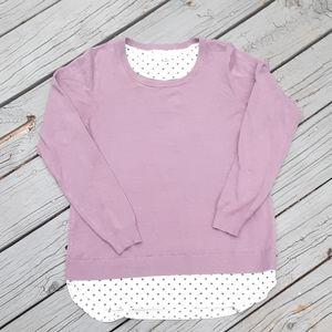 Croft & Barrow sweater. 0586c